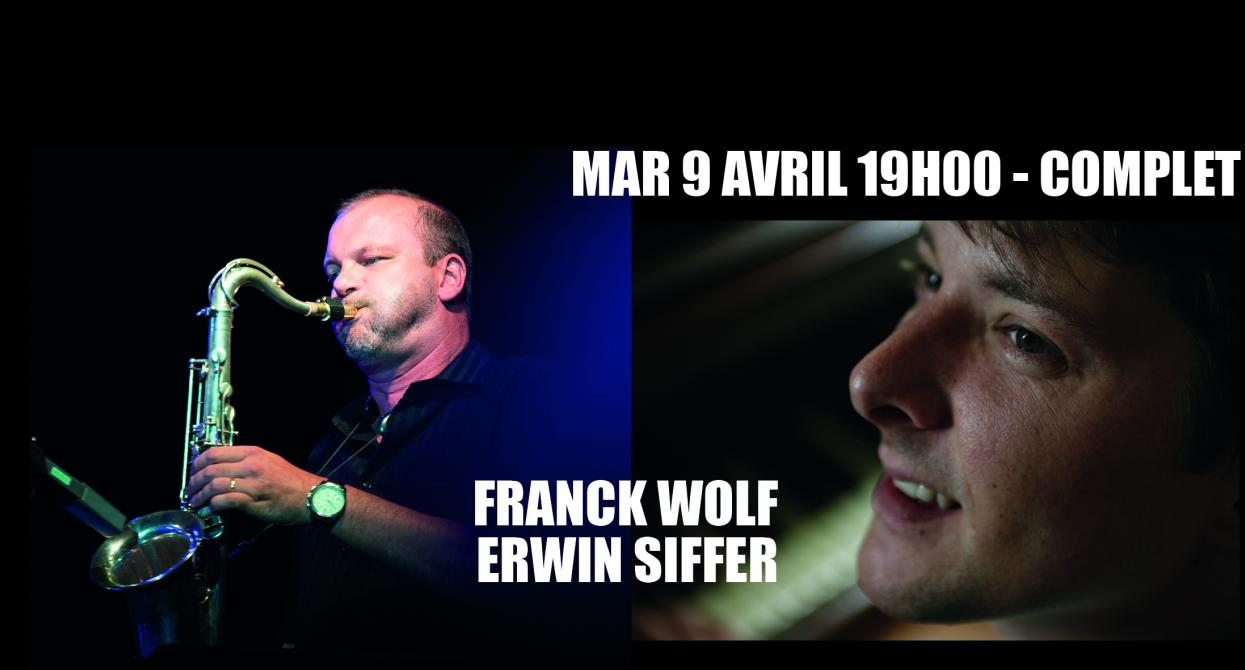 Franck Wolf et Erwin Siffer