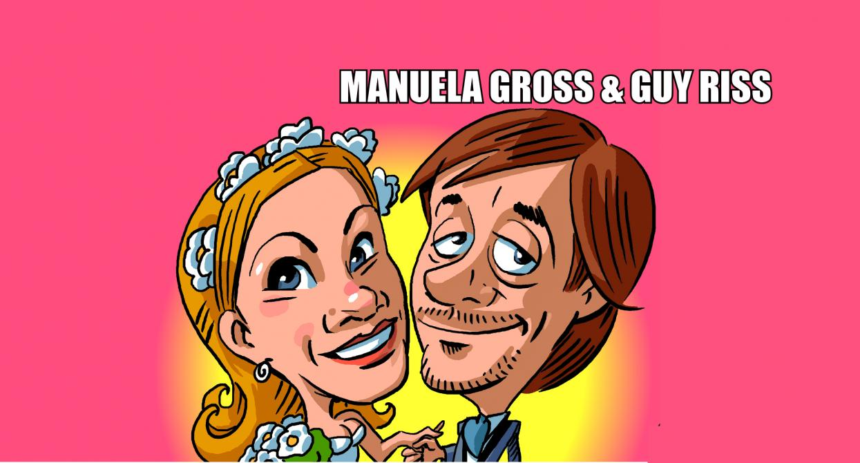 Manuela Gross et Guy Riss